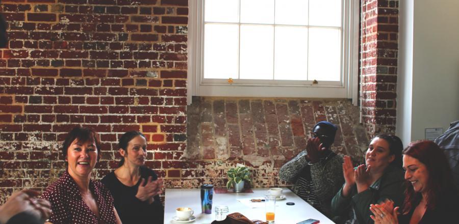 Aspex and Stand Tall Theatre PONToon Digital Skills Workshop